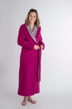 Liberty  100% Pyrenean Wool Wrap  Gown